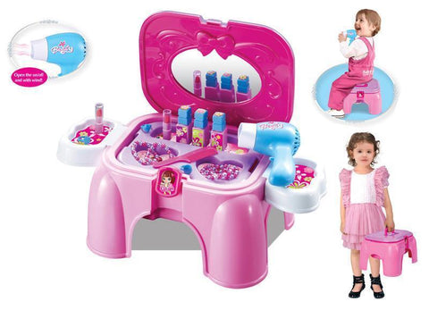 Berry Toys BR008-95 My First Portable Play & Carry Vanity Play Set - FunRidingToys.com