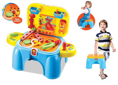 Berry Toys BR008-96 My First Portable Play & Carry Tools Play Set - FunRidingToys.com