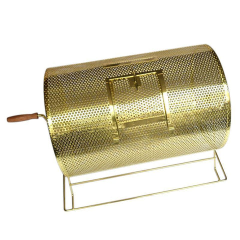 "Brass Large Raffle Ticket Drum (15"" Diameter x 21"" Length) - FunRidingToys.com"