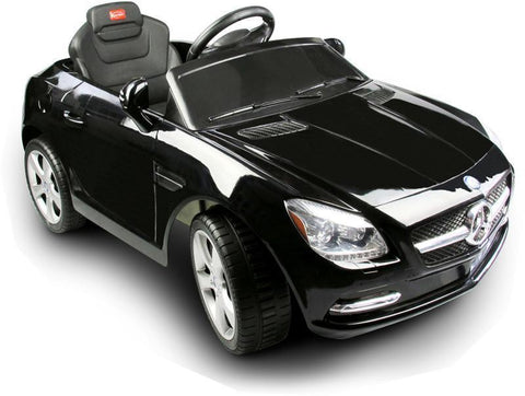 Vroom Rider VR81200-BLK Mercedes-Benz SLK Rastar 6V - Battery Operated/Remote Controlled (Black) - Peazz.com