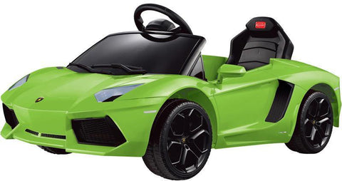 Vroom Rider VR81700-GRN Lamborghini Aventador LP700-4 Rastar 6V - Battery Operated/Remote Controlled (Green) - Peazz.com
