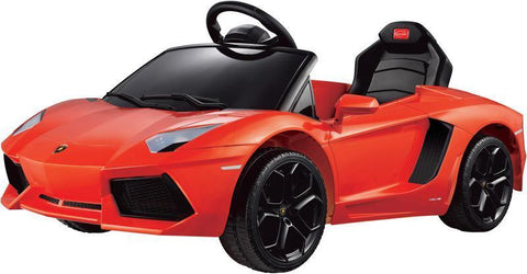 Vroom Rider VR81700-OR Lamborghini Aventador LP700-4 Rastar 6V - Battery Operated/Remote Controlled (Orange) - Peazz.com