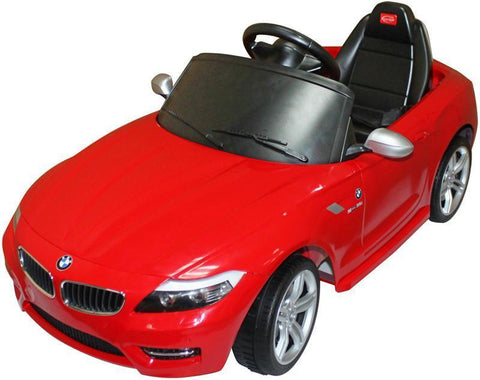 Vroom Rider VR81800-RED BMW Z4 Rastar 6V - Battery Operated/Remote Controlled (Red) - Peazz.com