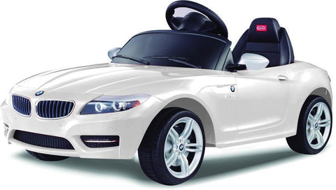 Vroom Rider VR81800-WH BMW Z4 Rastar 6V - Battery Operated/Remote Controlled (White) - Peazz.com