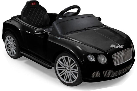 Vroom Rider VR82100-BLK Bentley GTC Rastar 6V - Battery Operated/Remote Controlled (Black) - Peazz.com