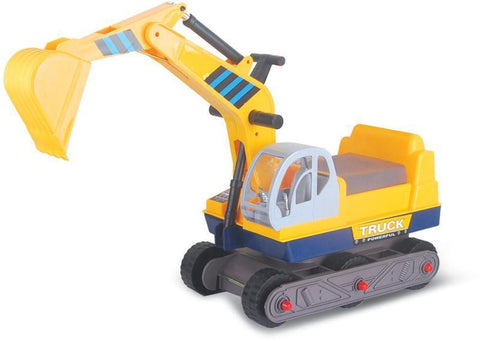 Vroom Rider VREX01 Ride-on 6-Wheel Excavator - Peazz.com