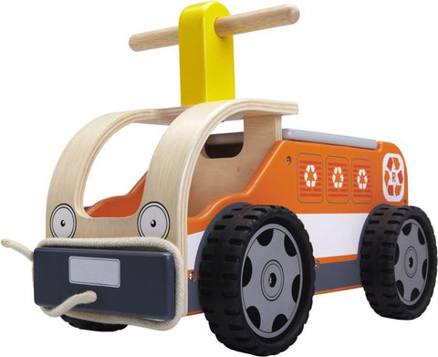 Wonderworld Toys WW-4054 Ride On Recycling Truck - Peazz.com