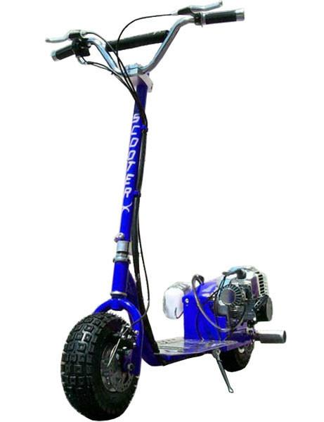 Scooterx Dirt Dog 49cc Blue Gas Scooter