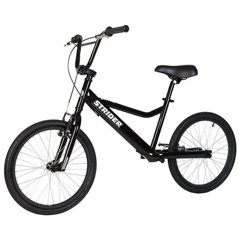 Strider 20 Sport No-Pedal Balance Bike - BLACK - Peazz.com