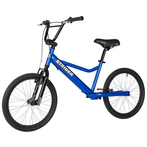 Strider 20 Sport No-Pedal Balance Bike - BLUE - Peazz.com