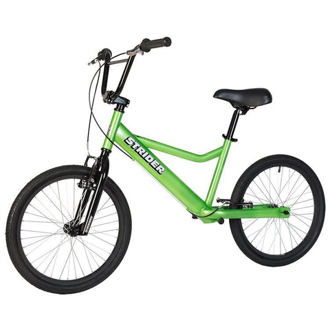 Strider 20 Sport No-Pedal Balance Bike - GREEN - Peazz.com