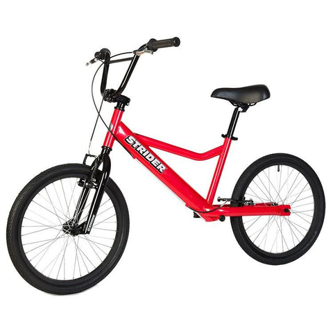 Strider 20 Sport No-Pedal Balance Bike - RED - Peazz.com