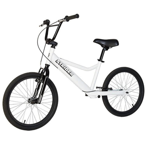 Strider 20 Sport No-Pedal Balance Bike - WHITE - Peazz.com