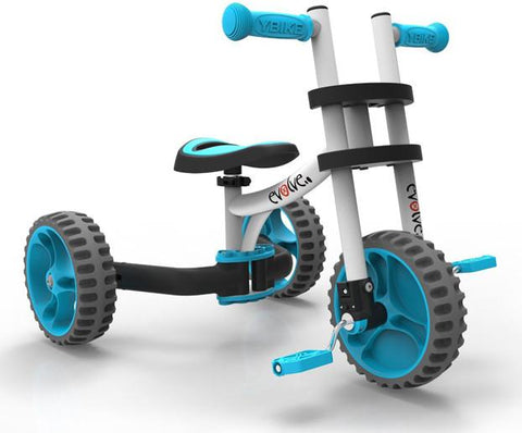 YBike YTRIK2 EVOLVE White/blue - Peazz.com