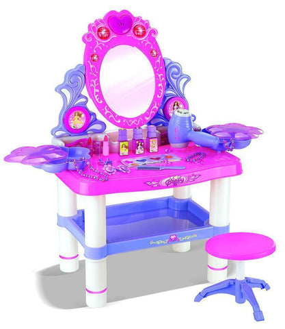 Berry Toys BR008-59 My Lovely Princess Pink Dresser with Accessories - FunRidingToys.com