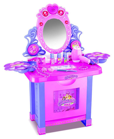 Berry Toys BR008-60 My Lovely Flower Pink Dresser with Accessories - FunRidingToys.com