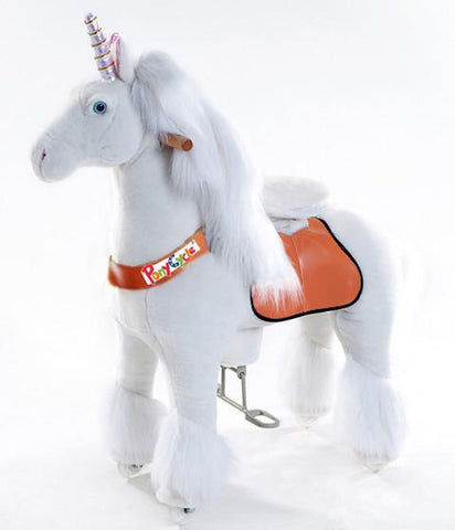 Vroom Rider x PonyCycle VR-N3042 Ride-On Unicorn for 3-5 Years Old - Small - Peazz.com