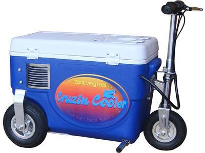 Cruzin Cooler CS-500_Blue Cooler Scooter 500w Blue - FunRidingToys.com