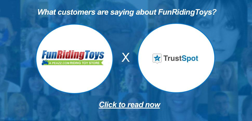 FunRidingToys Customer Testimonials via TrustSpot