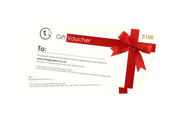 GIFT VOUCHER - MiniGardens NZ