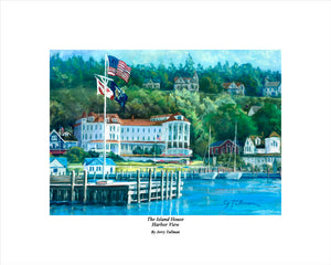"""The Island House Harbor View"" Tallman, Jerry"