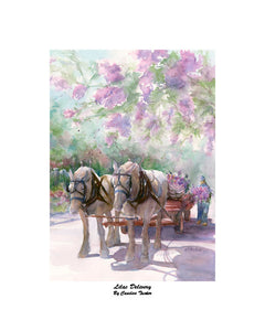 """Lilac Delivery'' Tucker, Candice"