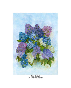 """Lilac Delight"" Williams, Karen Alley"