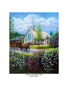 """Lilacs At Little Stone Church"" Tallman, Jerry"