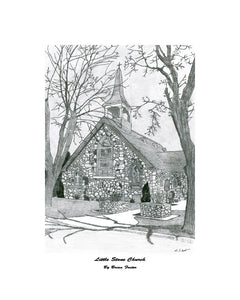 """Little Stone Church"" Foster, Brian"