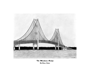 """The Mackinac Bridge"" Foster, Brian"