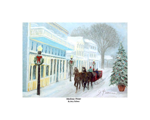 """Mackinac Winter"" Tallman, Jerry"
