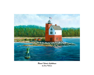 """Round Island Lighthouse"" Tallman, Jerry"