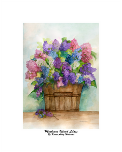 """Mackinac Island Lilacs"" Williams, Karen Alley"