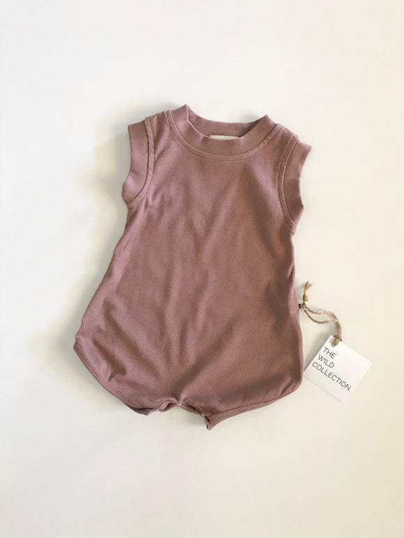 Roller Derby Romper - Chocolate