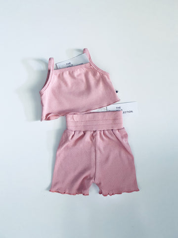Biker Baby (shorts only) - Blush Pink