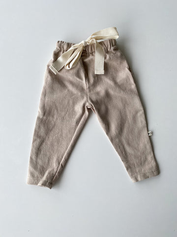 Relaxed Linen Pants - Natural