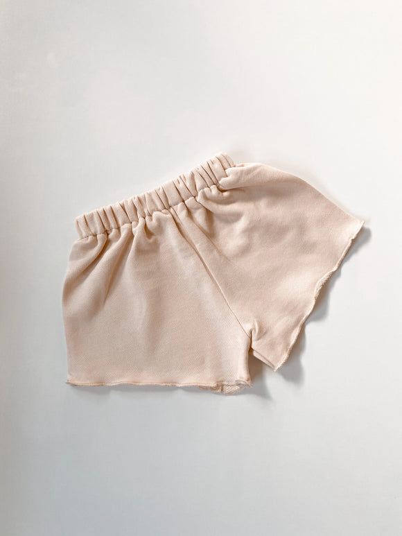 Terry Shorts - Almond
