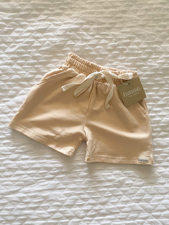 Basse Play Shorts - Soft beige
