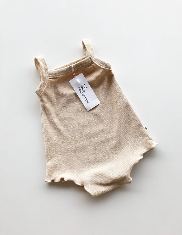 Simple Terry Romper