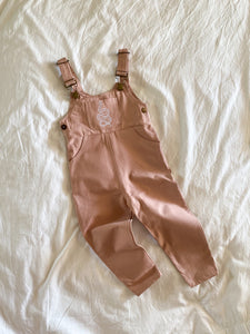 Bailey Overalls - Blush Pink