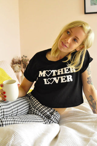 Mother Lover Crop Tee