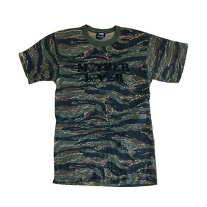 Upcycled Mother Lover Camo Print Tee