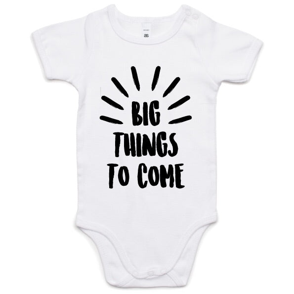 Big Things To Come Onesie