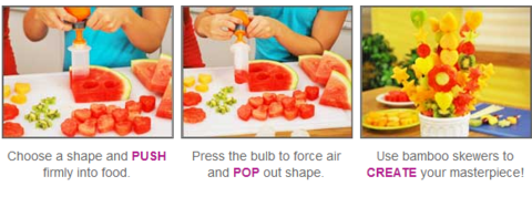 Vegetable & Fruit Shape Cutter