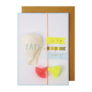 Yay Balloon Greeting Card