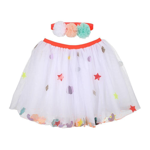 Pompom Headband & Tutu Dress-Up Kit