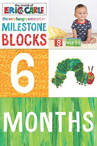 The Very Hungry Caterpillar  Milestone Blocks