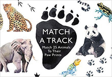 Match A Track: Match 25 Animals To Their Paw Prints