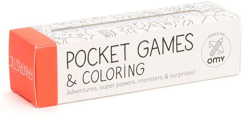 Fantastic Pocket game for coloring