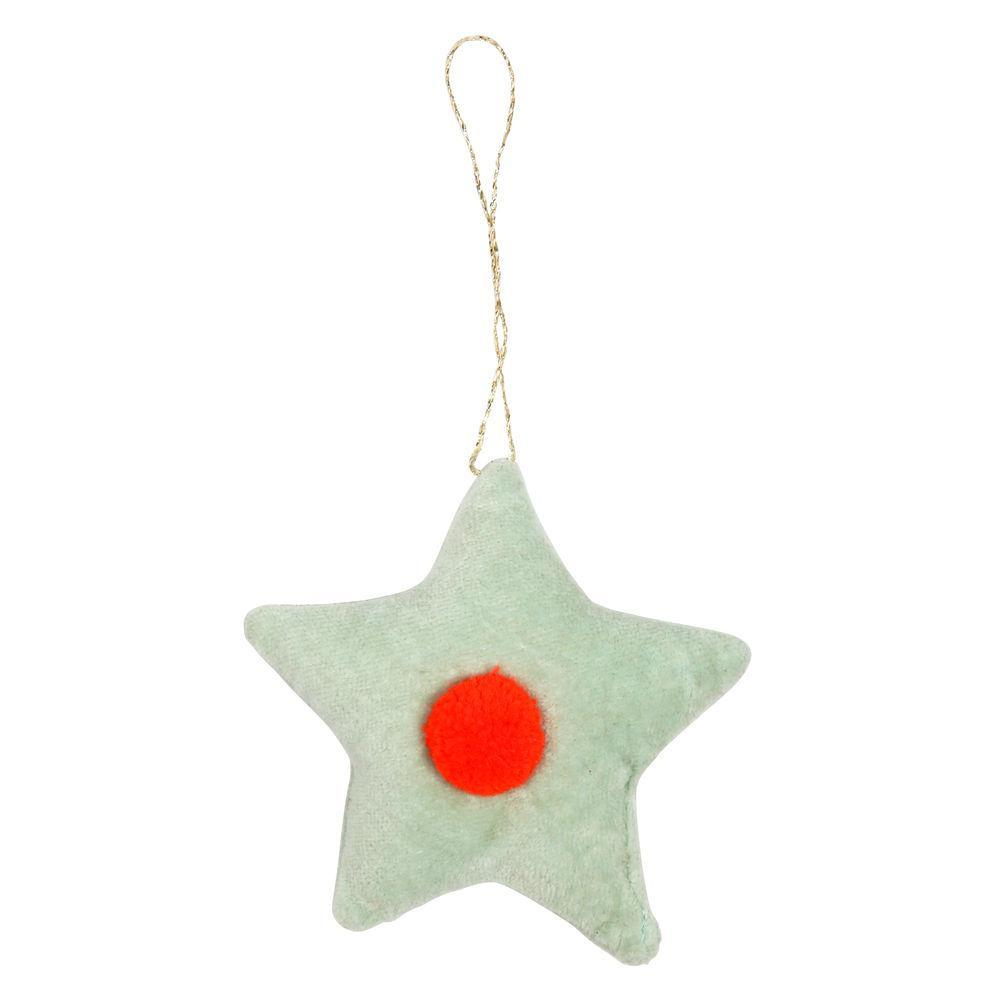 Mint Star Ornament